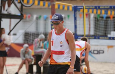 Олег ПЛОТНИЦЬКИЙ: «Націлююсь на високий результат і в «пляжці», і в «класиці» волейбол, мужчины, пляжный волейбол, интервью