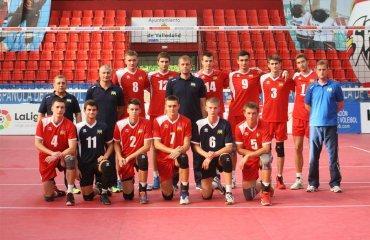 Чемпіонат Європи (U-20). Склад визначено волейбол, мужчины, сборная, чемпионат европы, u20