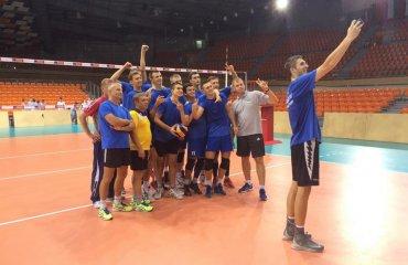 Чемпіонат Європи (U-20). Гравці націлені на медалі волейбол, мужчины, сборная, чемпионат европы, u20