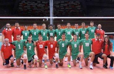 Чемпіонат Європи (U-20). Перший суперник – Болгарія волейбол, мужчины, сборная, чемпионат европы, u20