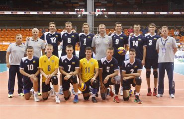 Фото матча Украина - Болгария. Чемпионат Европы U-20 волейбол, мужчины, сборная, чемпионат европы, u20, фото, результаты