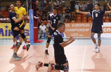 Чемпіонат Європи (U-20). Вольова перемога над господарями волейбол, мужчины, сборная, чемпионат европы, u20