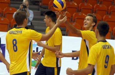 Фото матча Украина - Польша. Чемпионат Европы U-20 волейбол, мужчины, сборная, чемпионат европы, u20, фото, результаты