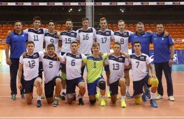 Чемпіонат Європи (U-20). Суперник №3 – Словенія волейбол, мужчины, сборная, чемпионат европы, u20