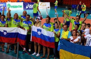 Фото матча Украина - Словения. Чемпионат Европы U-20 волейбол, мужчины, сборная, чемпионат европы, u20, фото, результаты