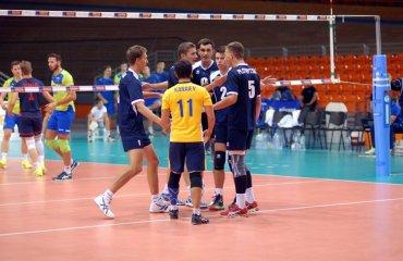 Чемпіонат Європи (U-20). Україна на 3-му місці в групі волейбол, мужчины, сборная, чемпионат европы, u20