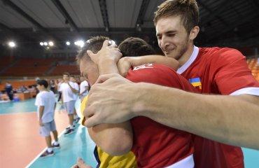 Фото матча Украина - Италия. Чемпионат Европы U-20 волейбол, мужчины, сборная, чемпионат европы, u20