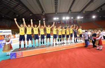 Чемпіонат Європи (U-20)-2016. Церемонiя нагородження (ВIДЕО) волейбол, мужчины, сборная, чемпионат европы, u20, фото, видео