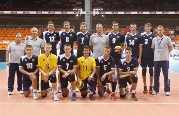 Чемпіонат Європи (U-20). Українці кращі на подачі та на прийомі волейбол, мужчины, сборная, чемпионат европы, u20