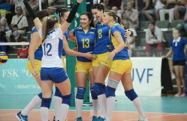 Чемпіонат Європи-2017 (жінки). Збірна Україна: друга перемога волейбол, женщины, сборная, чемпионат европы, отбор