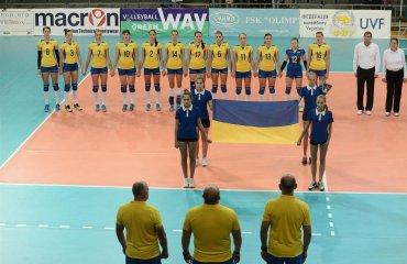 Фото матча Украина - Италия. Отбор на Чемпионат Европы-2017 волейбол, женщины, сборная, украина, фото, италия, результат
