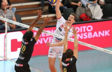 Результаты 1-го тура чемпионата Италии среди мужских команд серии А1 Серия А1, Италия, волейбол, мужчины