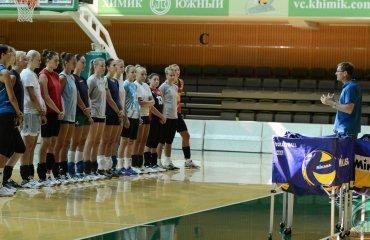 "Суперліга (жінки). Перед стартом. ВК ""Хімік"" волейбол, женщины, суперлига, украина"