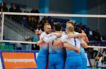 Результаты матчей мужской Суперлиги России. 5-й тур волейбол, мужчины, суперлига, россия, результаты