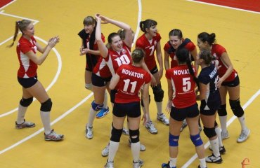 "Грація, емоції та нелегка перемога ""Новатора"" (ФОТО+ВІДЕО) волейбол, женщины, суперлига, украина, высшая лига, хмельницкий, новатор"