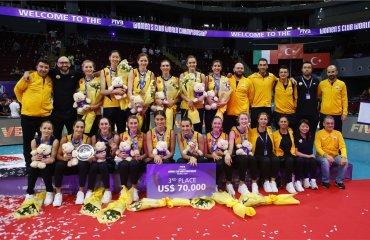 """""""Вакифбанк"""" номинирован на звание лучшей команды Турции в 2016 году волейбол, женщины, турция, вакифбанк"""