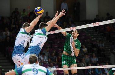 Трансляция матча польской Плюс-лиги мужской волейбол, польша, трансляция матча, скра, украинцы, видео