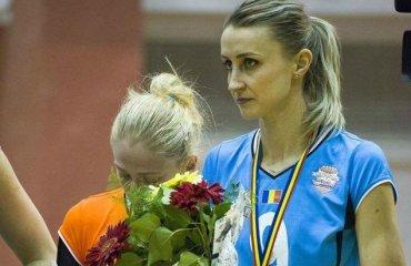 """Диана КАЛОТА: """"Хотим добиться максимального результата"""" женский волейбол, химик, суперлига украины, кубок екв, интервью, капитан тырговиште, румыния, еврокубки"""