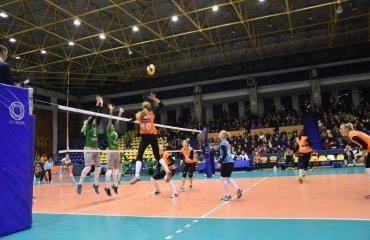 """""""Химик"""" одержал волевую победу в Румынии (ФОТО) женский волейбол, химик, суперлига украины, южный, кубок, екв, тырговиште, румыния, еврокубки, фото, результаты"""