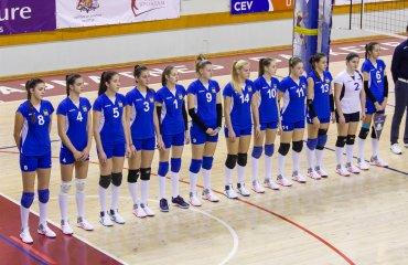 Украинские волейболистки одержали победу над сборной Черногории (ФОТО) женский волейбол, сборная украины, отбор на чемпионат европы, фото, статистика матча, результаты