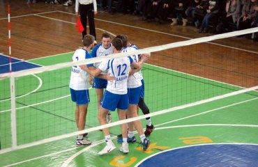 """Вища ліга (чоловіки). """"Заваір"""" став третім фіналістом мужской волейбол, высшая лига украины, 7 тур, заваир, экодом, булава - три финалиста"""