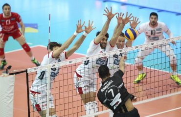 Определились все полуфинальные пары Кубка ЕКВ мужской волейбол, кубок екв, еврокубки, полуфинальные матчи, все участники