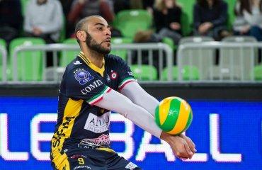 """Нгапет продлил контракт с """"Моденой"""" до 2020 года мужской волейбол, серия а1, италия, эрвин нгапет, доигровщик, модена, продлил контракт"""