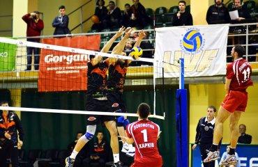 Суперліга (чоловіки). Фінал. Рахунок - 1:1 (ФОТО+ВIДЕО) мужской волейбол, суперлига украины, золотой финал, барком кажаны львов. локомотив харьков, фото видео результаты матчей