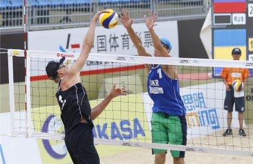 Бабич\Гордеев на Xiamen World Tour пляжный волейбол, турнир в китае, бабич и гордеев, счёт онлайн, распсиание, анонс матчей, отчет матчей, результаты