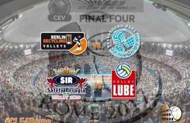 Кто выиграет Лигу Чемпионов-2017? Прогноз украинских легионеров мужской волейбол, лига чемпионов, финал четырёх, перуджа, лубе чивитанова, зенит казань, берлин, прогноз украинских волейболистов, прогноз украинских легионеров, капелусь, фурман