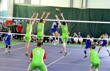 Шкільна ліга відкрила нову сторінку українського волейболу! детский волейбол, школьная лига, соревнования, турнир, украинский волейбол