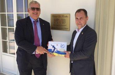 Глава комиссии пляжного волейбола Украины провёл переговоры с руководством FIVB пляжный волейбол украины, валерий задорожный, переговоры fivb, планы на будущее