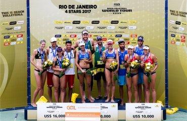 """Бразильские """"пляжники"""" выиграли домашний этап Мирового тура-2017 пляжный волейбол, мировой тур 2017, fivb, видео, фото, мужской и женский волейбол, давидо и щипкова, укрианские пляжницы, алисон бруно"""