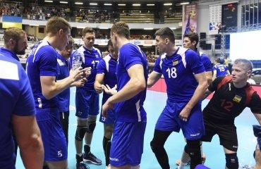 Національна збірна України перемогла команду Азербайджану мужской волейбол. мужская сборная украины, национальная сборная украины, отбор на чемпионат мира 2018, победила сборную азербайджана