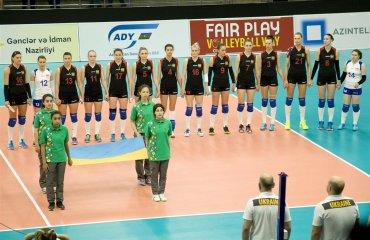 Жіноча збірна України програла збірній Азербайджану женский волейбол, отбор на чемпионату мира 2018, женская сборная украины проиграла сборной азербайджана