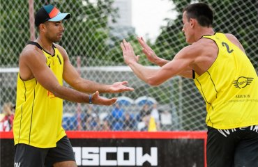 У Москві кваліфікація українським парам не підкорилася пляжный волейбол, мировой тур 2017, fivb, мужской и женский волейбол,москва, квалификация