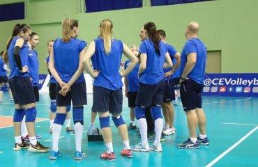 Жіноча збірна України готується до другого етапу Євроліги-2017 (ФОТО) женский волейбол, евролига 2017, женская сборная украины, спарринг, сборная грузии, тбилиси
