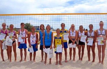 Результати чемпіонату України з пляжного волейболу U-14 пляжний волейбол, чемпіонат україни 2017, лазурне, херсон, чемпионат u14 результати,