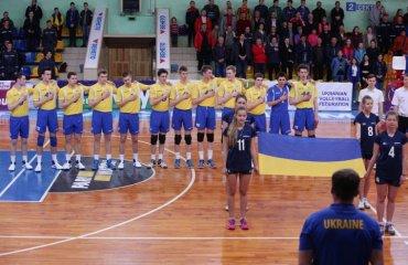 Збірна України U-17 перемогла Литву на EEVZA-2017 у Черкасах мужской волейбол, молодежная сборная украины u-27, чемпионат евза в черкассах, результати, литва победа