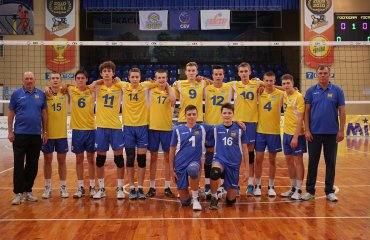 Молодіжна збірна Україна U-17 посіла третє місце на чемпіонаті EEVZA-2017 у Черкасах мужской волейбол, евза, черкассы молодежная сборная ю17, третье место чемпионата евза 2017