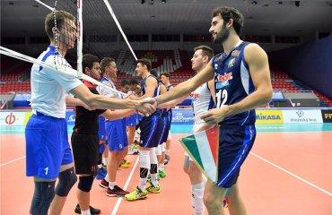 Молодіжна збірна України вдруге програла Італії на Чемпіонаті світу-2017 мужской волейбол, молодежная сборная украины u-21, чемпионат мира, чехия, проиграли италии, статистика матча