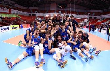 Молодёжная сборная Италии U-17 стала чемпионом Европы мужской ыолейбол, чемпионат европы, турция, бельгия, италия, болгария, юношеский волейбол ю17 фото рейтинг