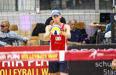 """Ярослав ГОРДЕЕВ: """"У нас очень сильные соперники, но мы постараемся дать бой"""" пляжный волейбол, ярослав гордеев, никоалй бабич, интервью, фото. чемпионат европы, соперники, украинские пляжники"""
