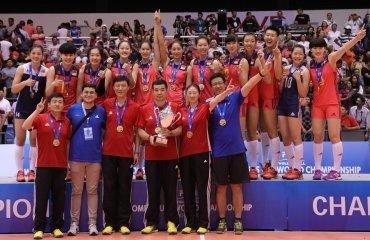 Женская сборная Китая выиграла чемпионат мира U-20 женский волейбол, чемпионат мира ю20, сборная китая, россии, фото результаты, серебро бронза, япония, турция, мексика