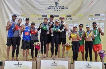 Дуэты Бёккерманн/Флюгген и Ларисса/Талита выиграли этап Мирового тура в Польше пляжный волейбол, мировой тур польша ольштын, результаты, фото, призёры. ларисса талита