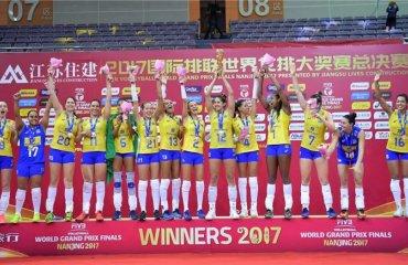 Женская сборная Бразилии выиграла Мировой Гран-при женский волейбол, сборная бразилии, сборная сербии, сборная италии, сборная китая, мировой гран-при