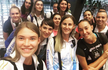 Жіноча збірна України прибула до Тайбею женский волейбол,всемирная универсиада, состав женской сборной укрианы, состав мужской сборной украины, тайбей. химик южный