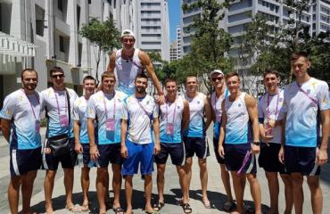 Збірна України провела контрольні матчі з командами Аргентини та Бразилії мужской волейбол, всемирная универсиада 2017, тайбей, мужская сборная украины, угис крастиньш главный тренер, интервью