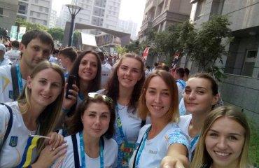 Жіноча збірна України зіграла у Тайбеї два спаринги всемирная универсиада 2017, тайбей, женская сборная украины, спарринги, андрей романович главный тренер