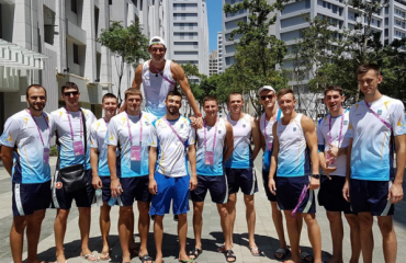 Чоловіча збірна України посіла четверте місце на Всесвітній Універсіаді-2017 мужской волейбол, всемирная универсиада 2017, тайбей, мужская сборная украины, угис крастиньш главный тренер, четвертое место, проиграли японии